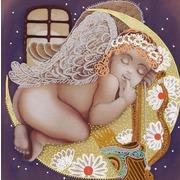 """Канва/ткань с нанесенным рисунком Конёк """"Сладкий сон"""""""