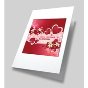 """Набор для вышивания бисером Матрёнин посад """"Алое сердце"""" набор для создания открыток"""