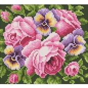 """Набор для выкладывания мозаики Паутинка """"Розы и анютины глазки"""""""