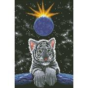 """Набор для выкладывания мозаики Паутинка """"Лунный тигрёнок"""""""