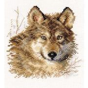 """Набор для вышивания крестом Алиса """"Волк"""""""