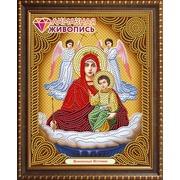 """Набор для выкладывания мозаики Алмазная живопись """"Икона Богородицы Живоносный Источник"""""""