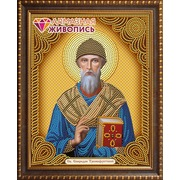 """Набор для выкладывания мозаики Алмазная живопись """"Икона Святой Спиридон Тримифунтский"""""""