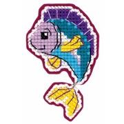"""Набор для вышивания крестом Риолис Магнит """"Рыбка"""""""