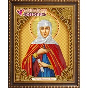 """Набор для выкладывания мозаики Алмазная живопись """"Икона Святая Праведная Анна"""""""