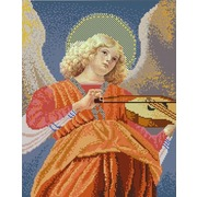"""Канва/ткань с нанесенным рисунком Конёк """"Ангел играющий на виоле"""""""