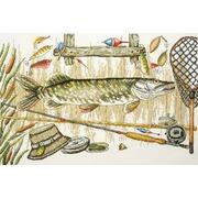 """Набор для вышивания крестом Марья искусница """"Время ловить рыбу"""""""
