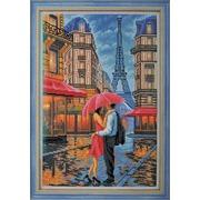 """Набор для вышивания бисером Радуга бисера (Кроше) """"Двое. Париж"""""""