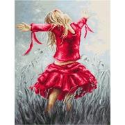 """Набор для вышивания крестом Luca-S """"Танец в поле"""""""