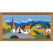 """Набор для вышивания Риолис """"Городок в горах"""""""