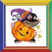 """Набор для вышивания крестом Риолис """"Happy Halloween"""""""