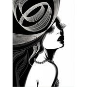 "Канва/ткань с нанесенным рисунком Конёк ""Дама"""