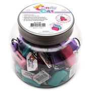Аксессуары Hemline Мини-ножницы Candy Cut в закрытом пластиковом корпусе