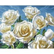 """Набор для выкладывания мозаики Паутинка """"Белые розы"""""""