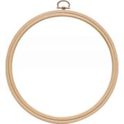 Аксессуары Nurge Пяльцы-рамка круглая деревянная с подвесом