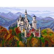 """Канва/ткань с нанесенным рисунком Матрёнин посад """"Замок в Баварии"""""""