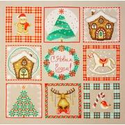 """Набор для вышивания крестом Марья искусница """"Новогоднее настроение"""""""