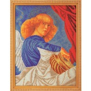 """Набор для вышивания бисером Радуга бисера (Кроше) """"Музицирующий ангел. Примо"""""""