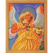 """Набор для вышивания бисером Радуга бисера (Кроше) """"Музицирующий ангел. Секондо"""""""