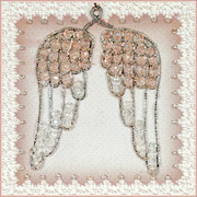 """Набор для вышивания хрустальными бусинами Образа в каменьях """"День ангела"""""""
