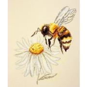 """Набор для вышивания крестом Марья искусница """"Пчела"""""""