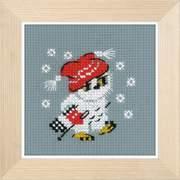 """Набор для вышивания крестом Риолис """"Снежок"""""""