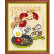 """Набор для вышивания крестом Риолис """"Завтрак"""""""
