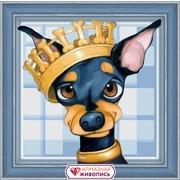 """Набор для выкладывания мозаики Алмазная живопись """"Королевский той"""""""