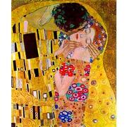 """Канва/ткань с нанесенным рисунком Grafitec """"Поцелуй"""" (Густав Климт)"""