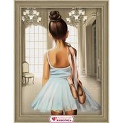 """Набор для выкладывания мозаики Алмазная живопись """"Юная балерина"""""""