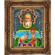 """Набор для вышивания бисером Вышиваем бисером """"Святой праведный Иоанн Кронштадтский"""""""