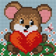 """Набор для выкладывания мозаики Вышиваем бисером """"Мышка"""""""