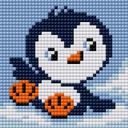 """Набор для выкладывания мозаики Вышиваем бисером """"Пингвин"""""""