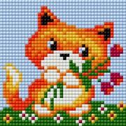 """Набор для выкладывания мозаики Вышиваем бисером """"Лисичка"""""""