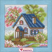 """Набор для выкладывания мозаики Алмазная живопись """"Весенний домик"""""""