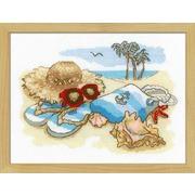 """Набор для вышивания крестом Риолис """"Отдых на море"""""""