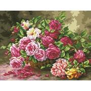 """Набор для выкладывания мозаики Паутинка """"Корзина садовых роз"""""""