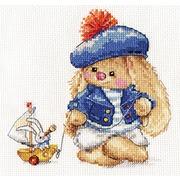 """Набор для вышивания крестом Алиса """"Зайка Ми. Моряк"""""""