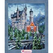"""Набор для выкладывания мозаики Алмазная живопись """"Нойшванштайн"""""""