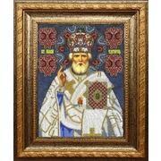"""Набор для вышивания бисером Вышиваем бисером """"Икона Святой Николай Чудотворец (трунцал)"""""""