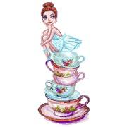 "Канва/ткань с нанесенным рисунком Матрёнин посад ""Чайная фея"""