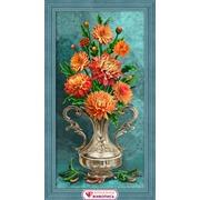 """Набор для выкладывания мозаики Алмазная живопись """"Хризантемы"""""""
