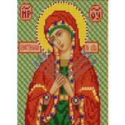 """Канва/ткань с нанесенным рисунком Конёк """"Богородица Семистрельная"""""""