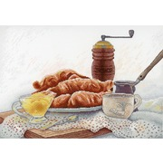 """Набор для вышивания крестом М.П. Студия """"Французский завтрак"""""""