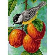 """Набор для выкладывания мозаики Вышиваем бисером """"Синичка на яблоках"""""""