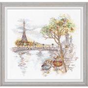 """Набор для вышивания крестом Овен """"Осень в Париже"""""""