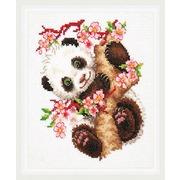 """Набор для вышивания крестом Чудесная игла """"Панда"""""""