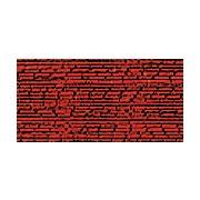 Мулине Gamma металлик, цвет М-10 красный (полиэстер, 8 м)