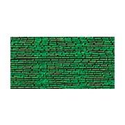 Мулине Gamma металлик, цвет М-15 зеленый (полиэстер, 8 м)