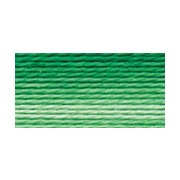Мулине Gamma меланж, цвет Р-11 яр.зеленый-бл.зеленый (х/б, 8 м)
